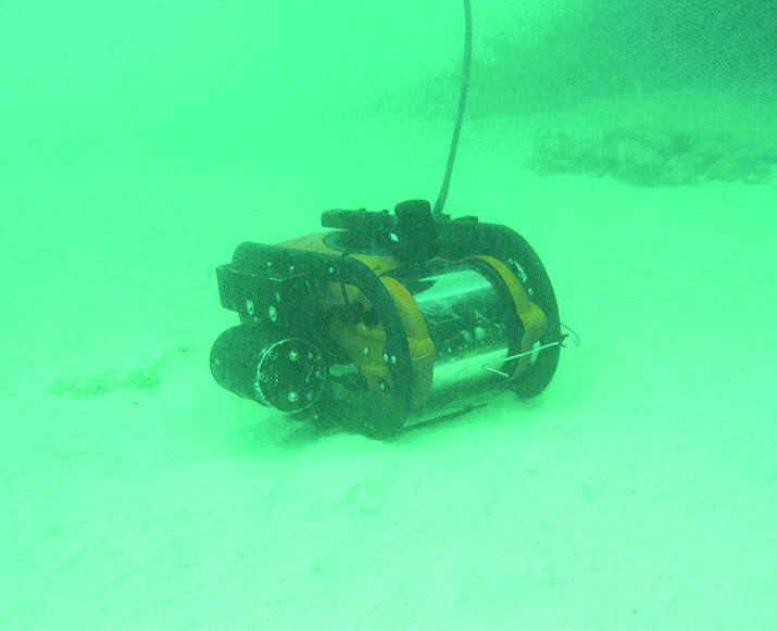 UUXO-ROV underwater